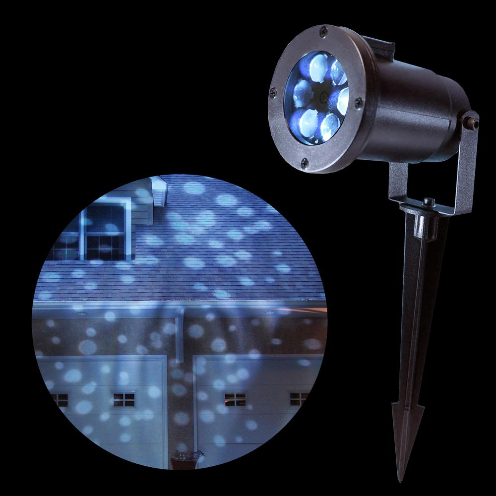 Light Projector Lumabase 1 Light White Dots Projector Light