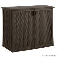 Suncast 42.25 in. x 23 in. Outdoor Patio Cabinet-BMOC4100 ...