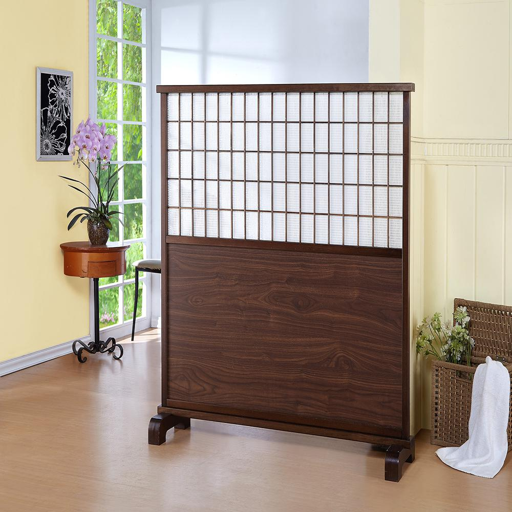 Room Dividers Home Depot 48 5 In Mahogany Room Partition Divider Dct 656 The Home Depot