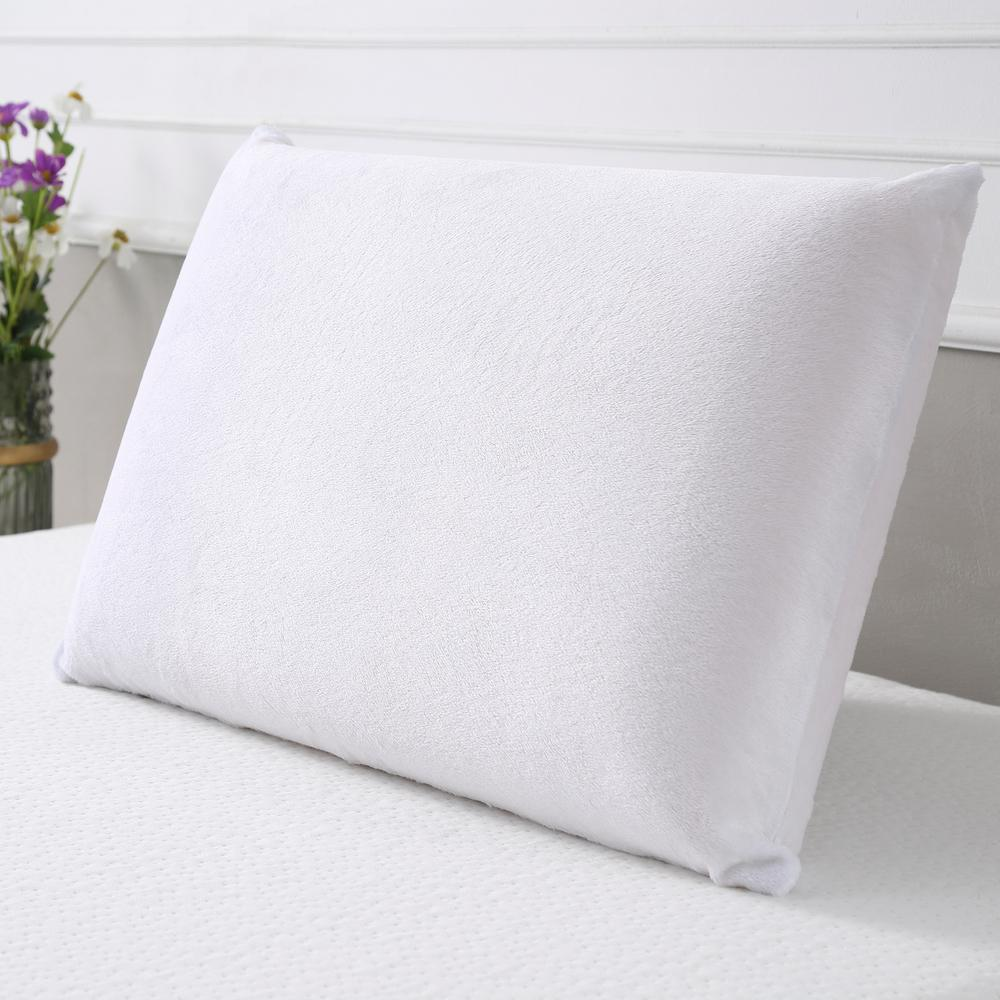 Firm Memory Foam Pillow Sleep Options Conforma King Size Memory Foam Bed Pillow