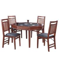 Hathaway Broadway 48 in. Folding Poker Table and Chairs ...