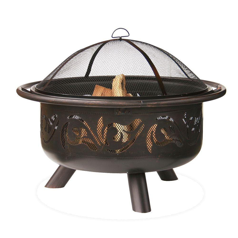 Home Depot Fire Pit Endless Summer 36 In Fire Pit With Swirl Design