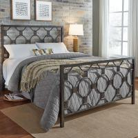Fashion Bed Group Baxter Heritage Silver California King ...