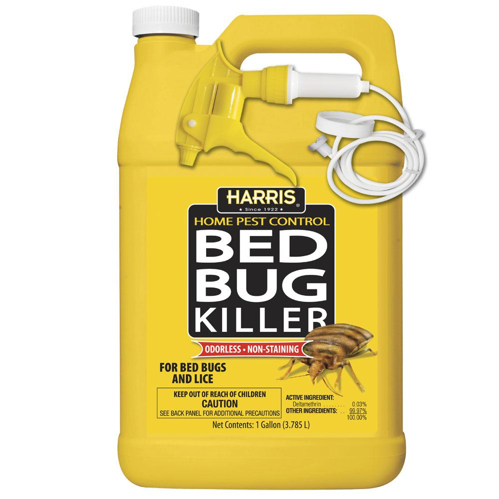 Sprays For Bed Bugs Harris 1 Gal Bed Bug Killer