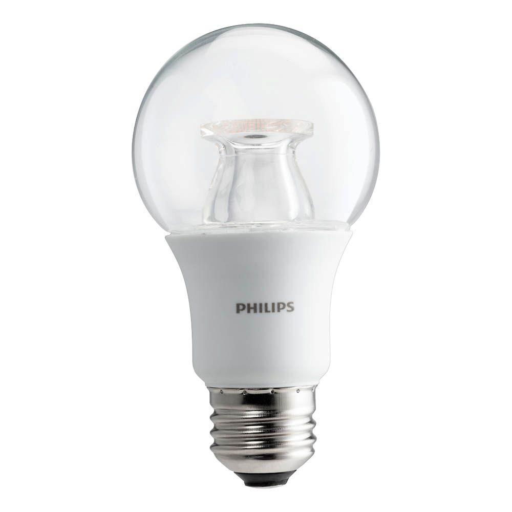 Light Bulb Denver Philips 60 Watt Equivalent A19 Dimmable With Warm Glow Dimming Effect Energy Saving Led Light Bulb Soft White 2700k