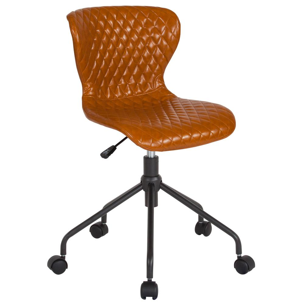 Saddle Office Chair Flash Furniture Saddle Vinyl Office Desk Chair