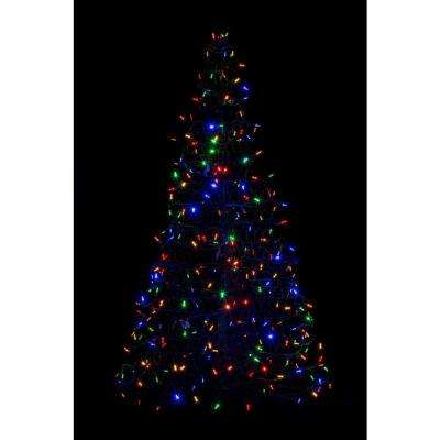 Prelit Artificial Tree - Outdoor Christmas Decorations - Christmas - home depot outdoor christmas decorations