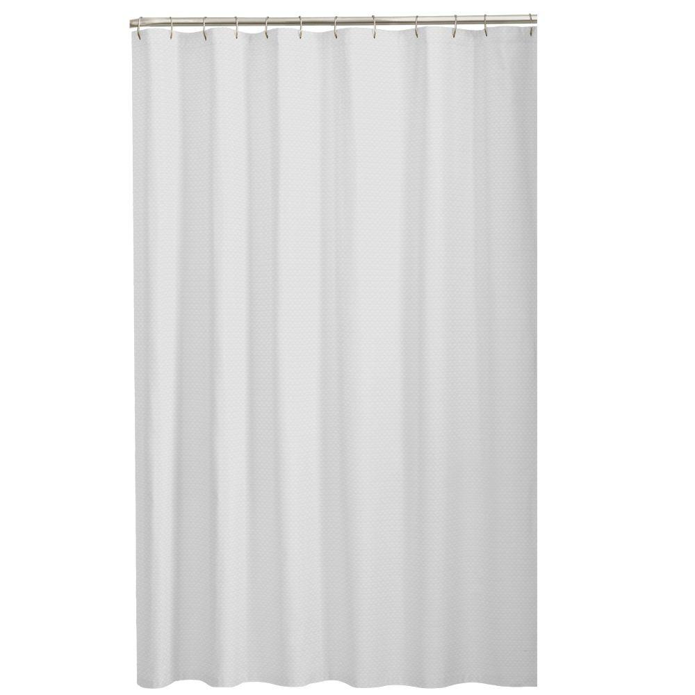 Fullsize Of Black And White Shower Curtain