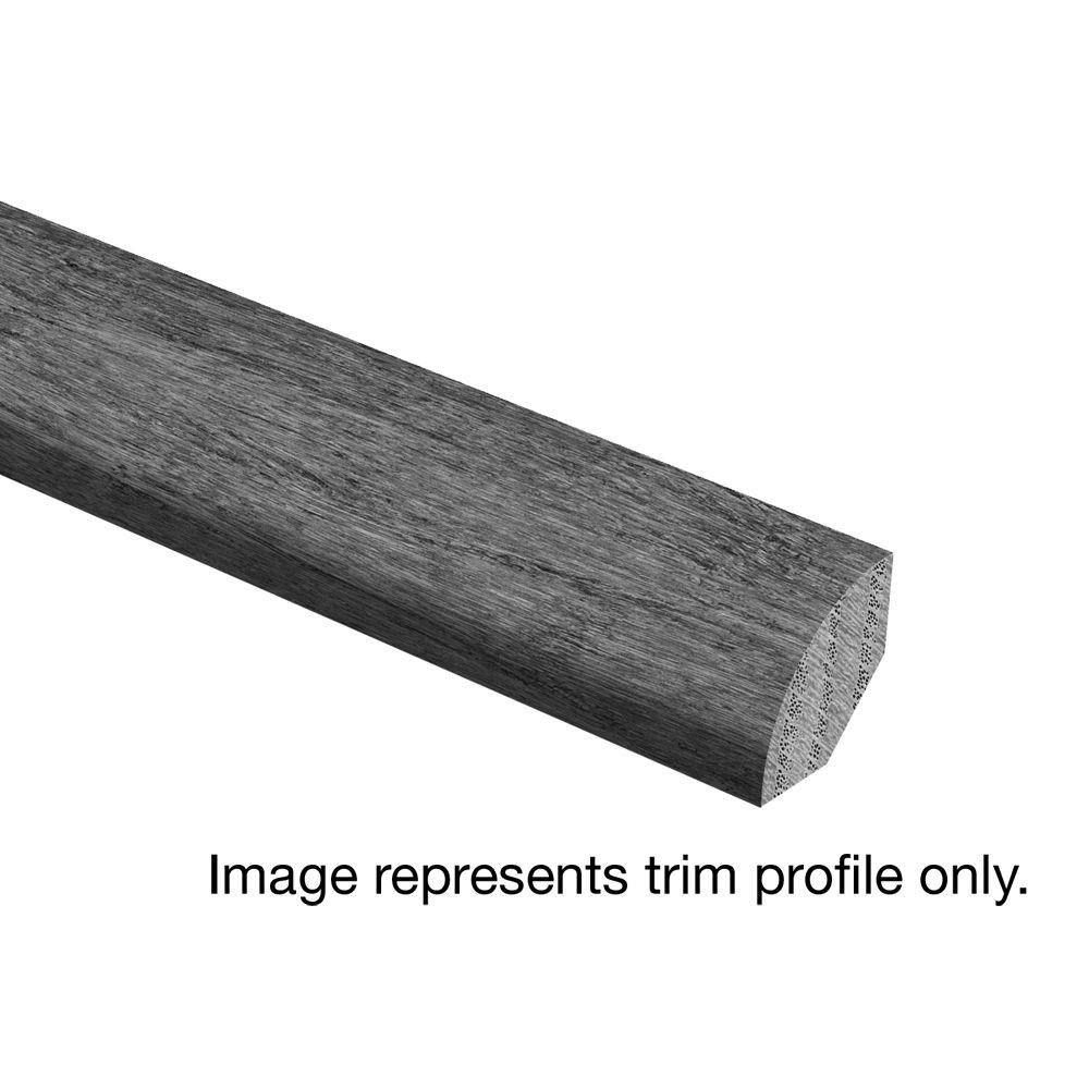 Floor Wire Molding Zamma Oak Driftwood Wire Brushed 3 4 In Thick X 3 4 In Wide X 94 In Length Hardwood Quarter Round Molding
