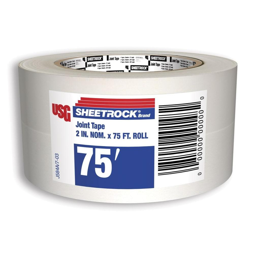 Drywall Paper Tape Usg Sheetrock Brand 75 Ft Drywall Joint Tape 380041