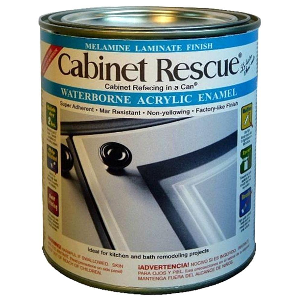 Cabinet Rescue 31 Oz Melamine Laminate Paint Dt43 The Home Depot