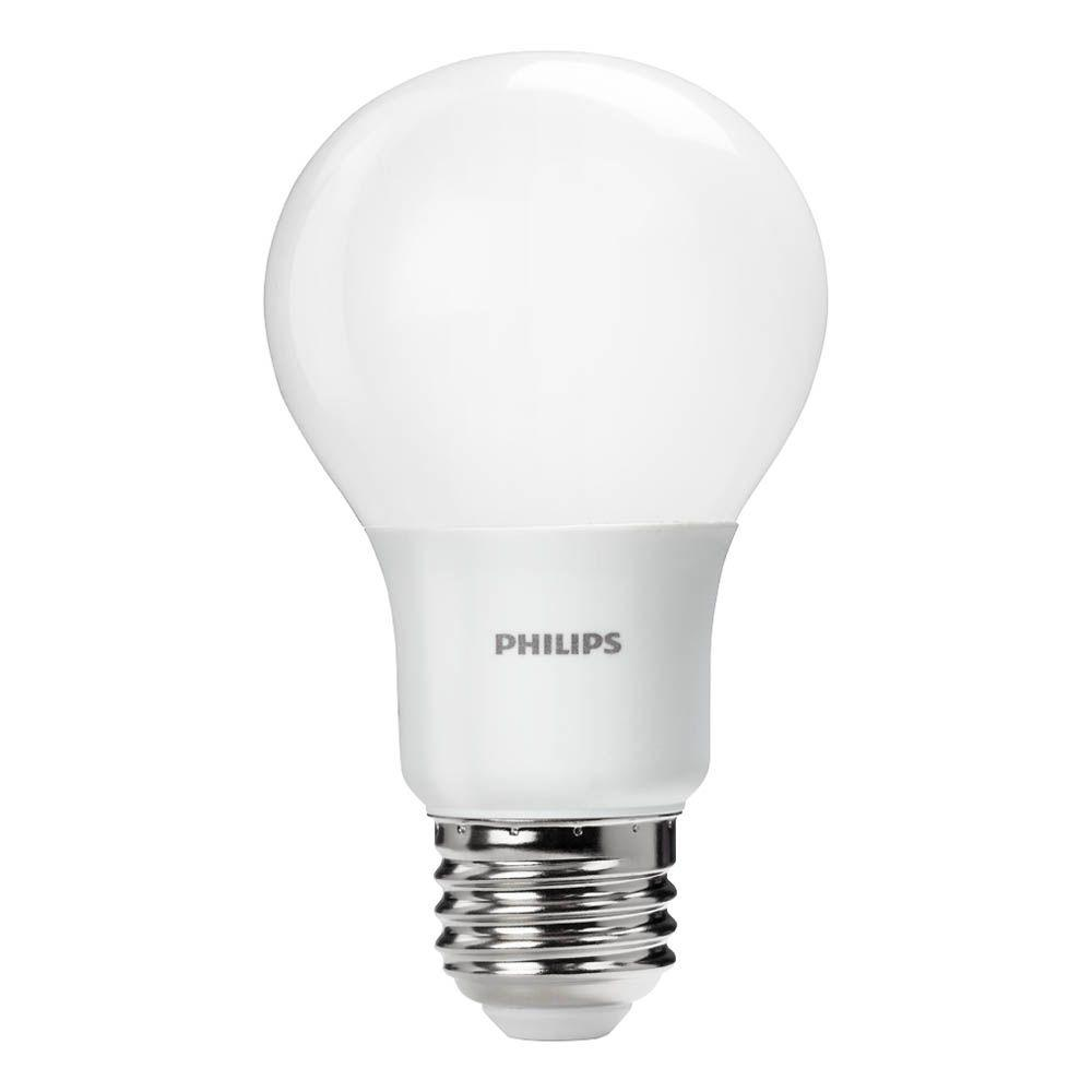60w Light Bulb Philips 60 Watt Equivalent A19 Non Dimmable Energy Saving Led Light Bulb Daylight 5000k
