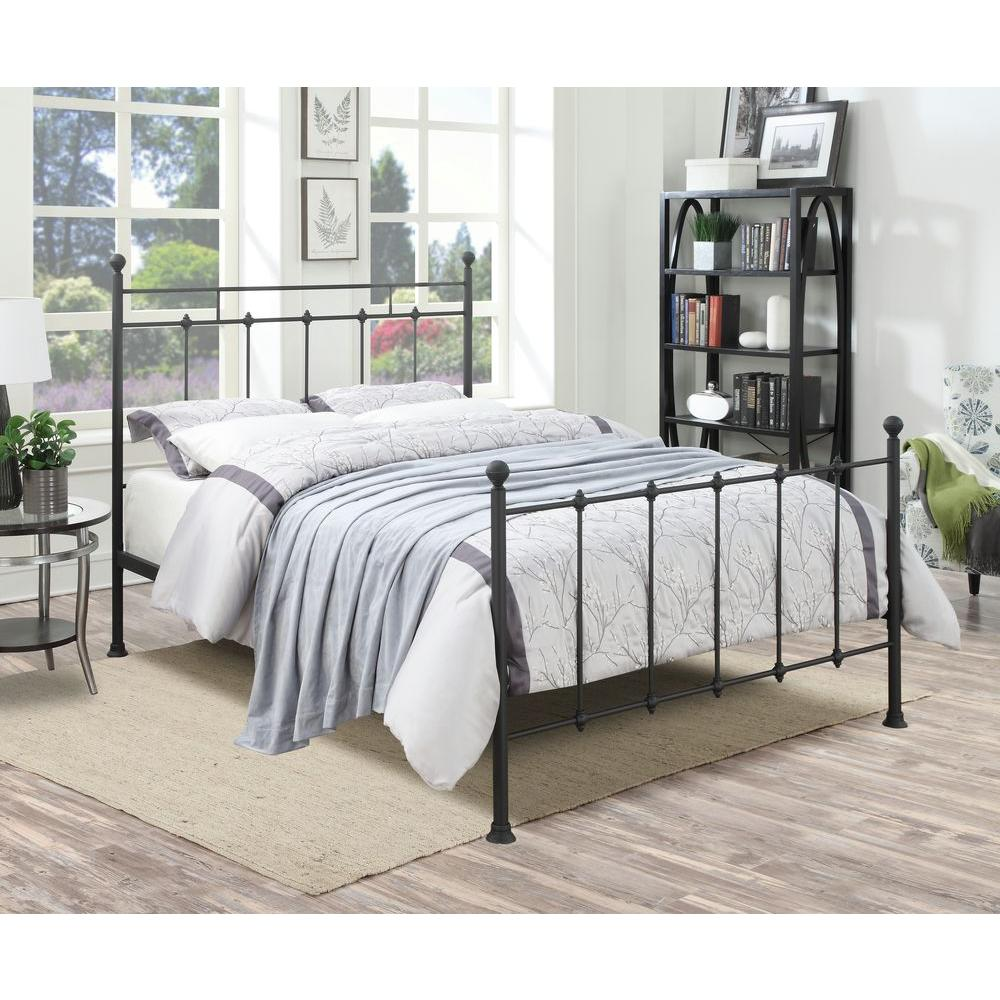 Beds And Beds Pri All In 1 Black Queen Bed Frame