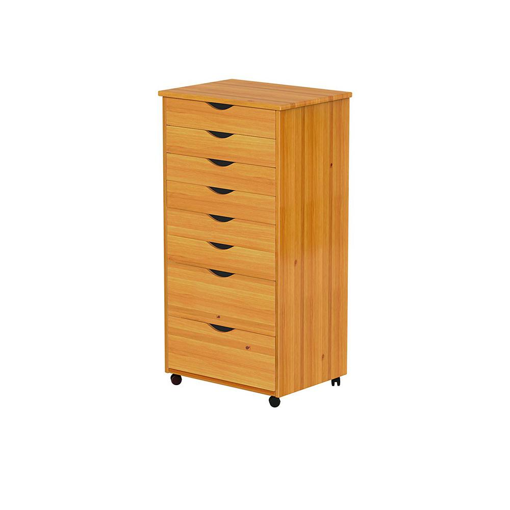 Filing Cabinet Insert Adeptus Pine Mobile File Cabinet 76154 The Home Depot