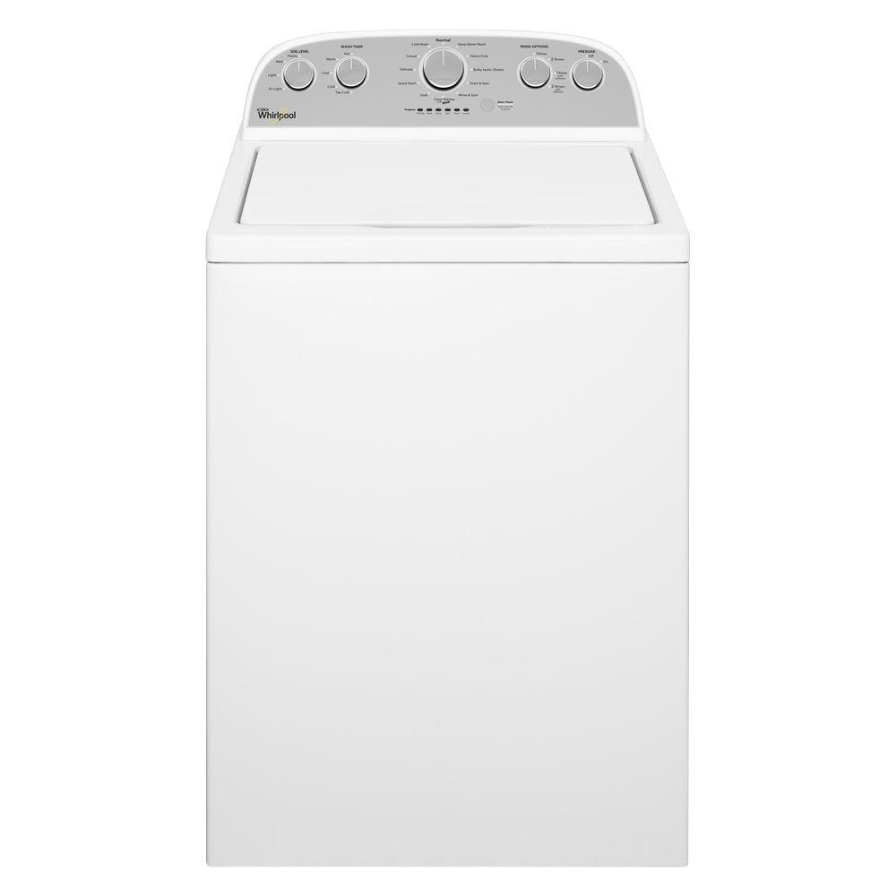 Sears Washer And Dryer Canada Whirlpool 4 3 Cu Ft High Efficiency White Top Load Washing Machine With Quick Wash
