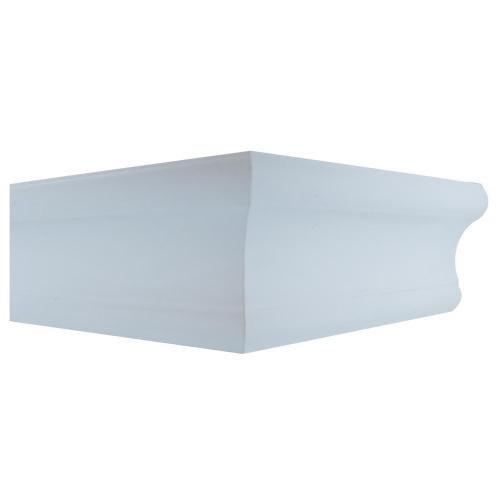Medium Of White Floating Shelves