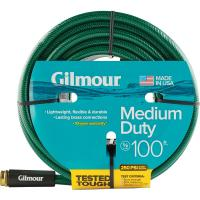 Gilmour 5/8 in. Dia x 100 ft. Medium-Duty Water Hose ...