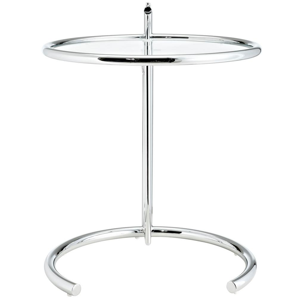 Eileen Gray Table Modway Eileen Gray Side Table In Silver