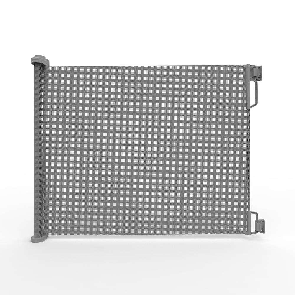 Outdoor 33 33 In. H Outdoor Retractable Gate, Extra Wide, Gray-2741 ...