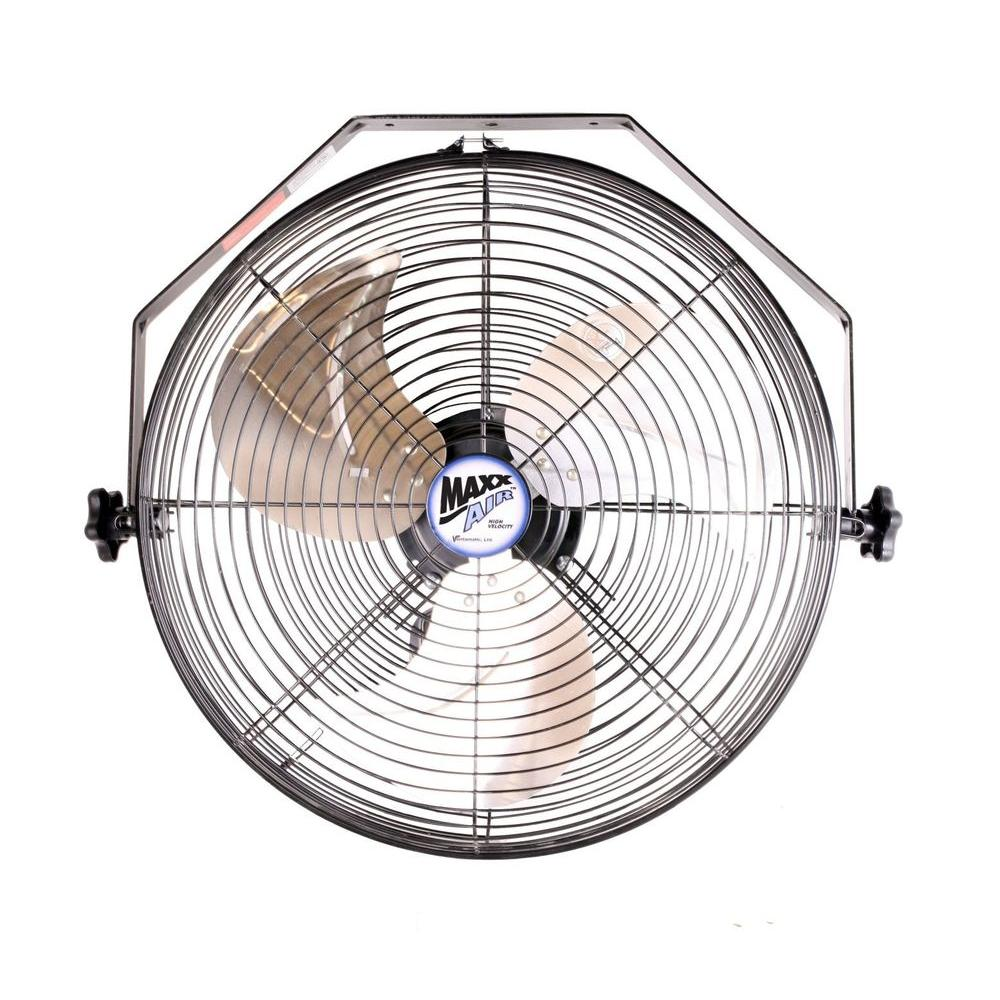Garage Workshop Fan Maxxair 18 In Wall Mount Fan