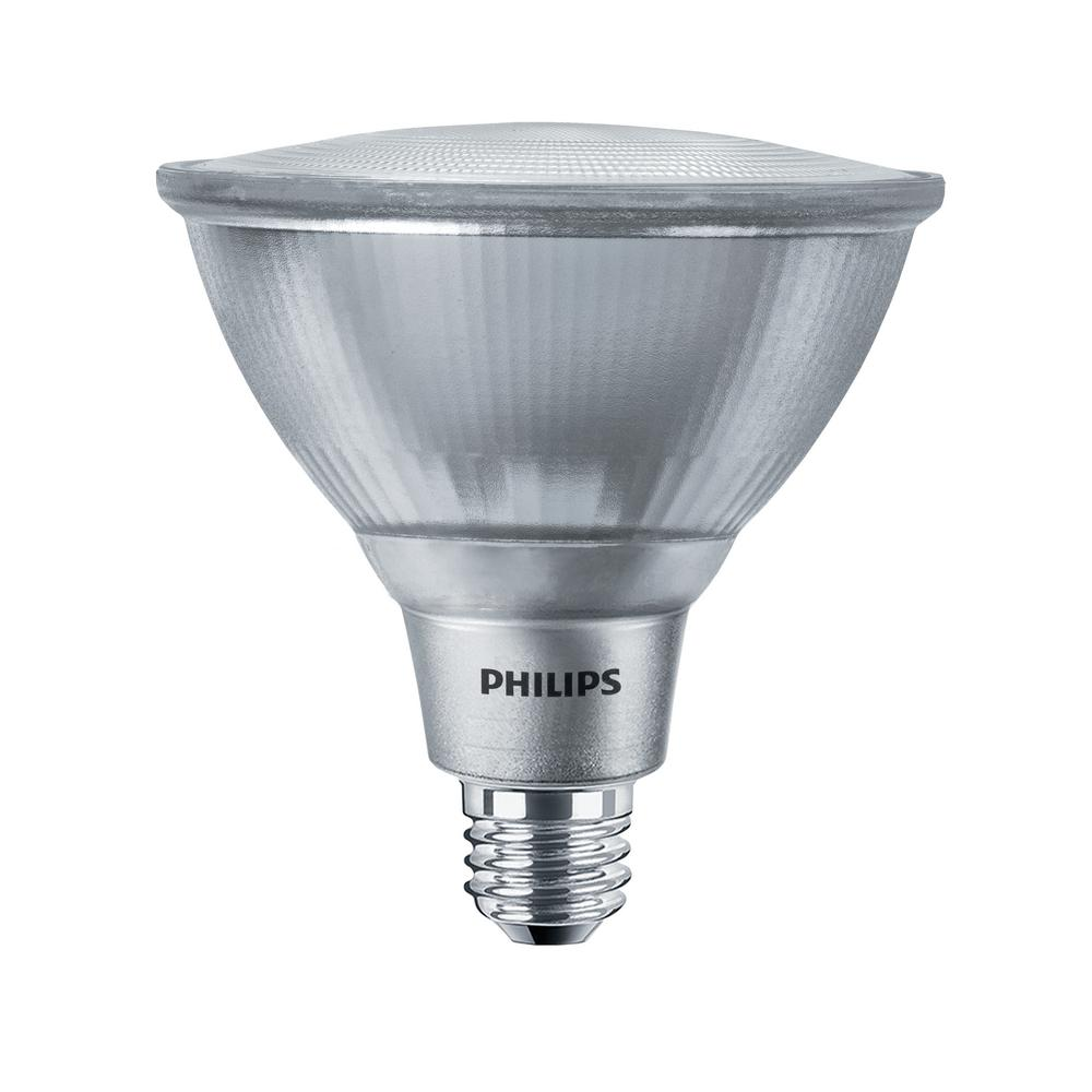 Bright Light Philips Philips 120 Watt Equivalent Par38 Dimmable Led Energy Star Flood Light Bulb Bright White 3000k Classic Glass