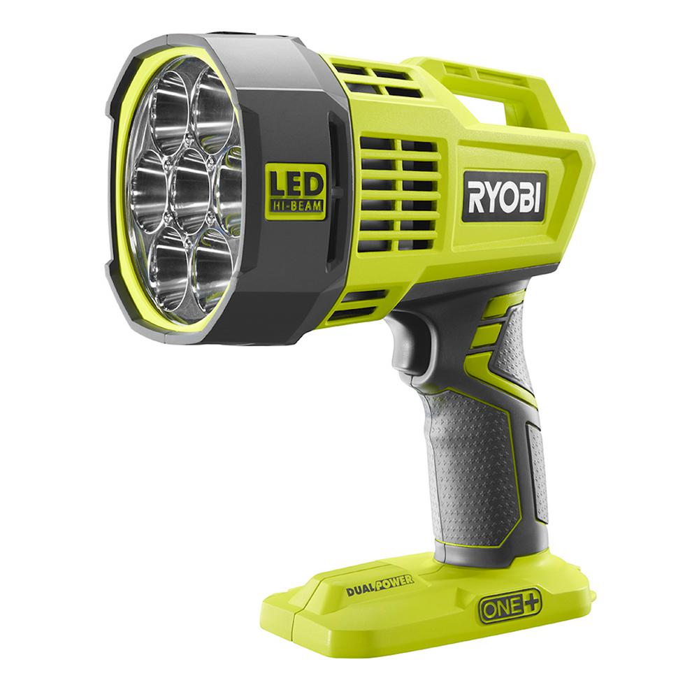 Blinds Spotlight Ryobi 18 Volt One Hybrid Led Spotlight Tool Only With 12 Volt Automotive Cord