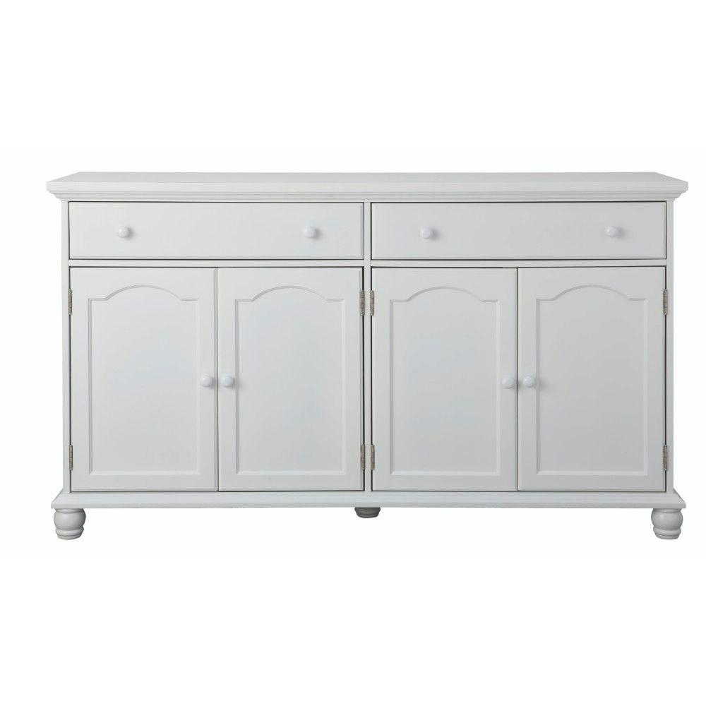 Buffet Sideboard Blue Harwick Antique White Buffet