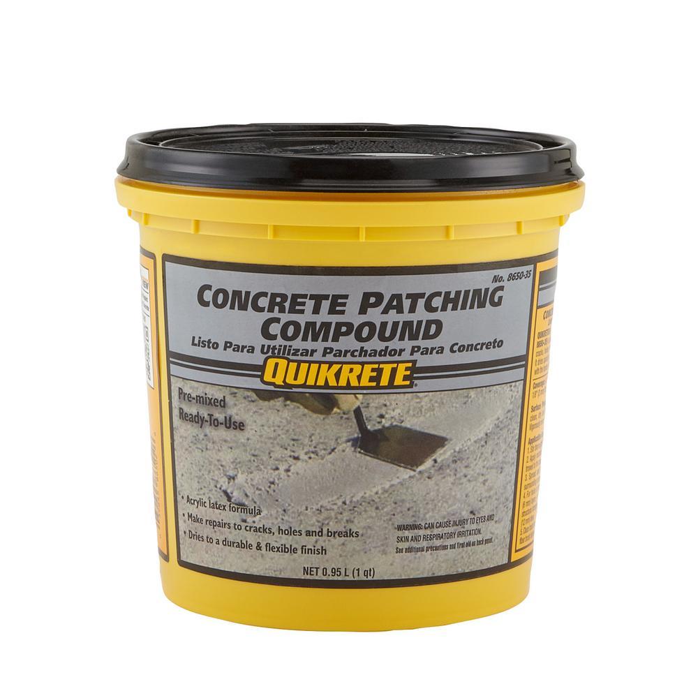 Quikrete 4 Lb 1 Qt Concrete Patching Compound 8650 35