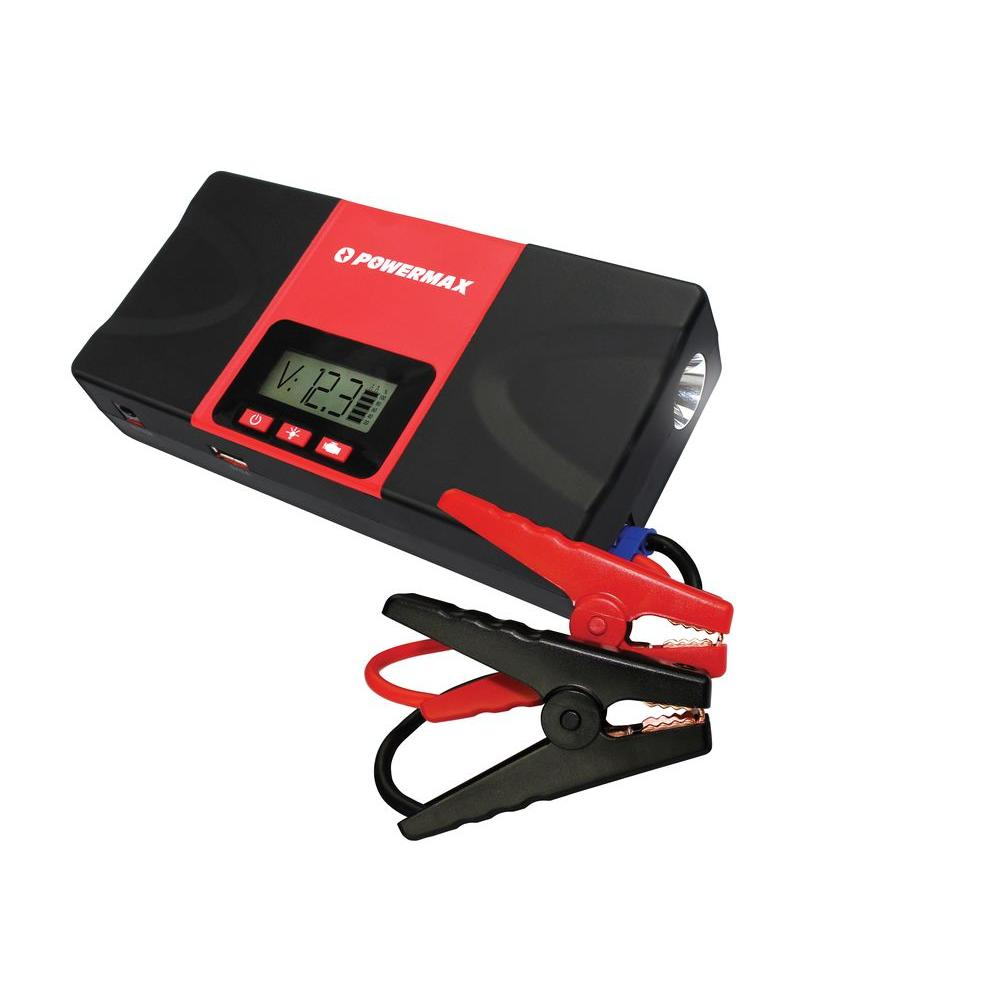 Bank St Home Depot Powermax 12 Volt 18000mah 700 Amp Lithium Portable Power Bank Battery Charger And Car Jump Starter