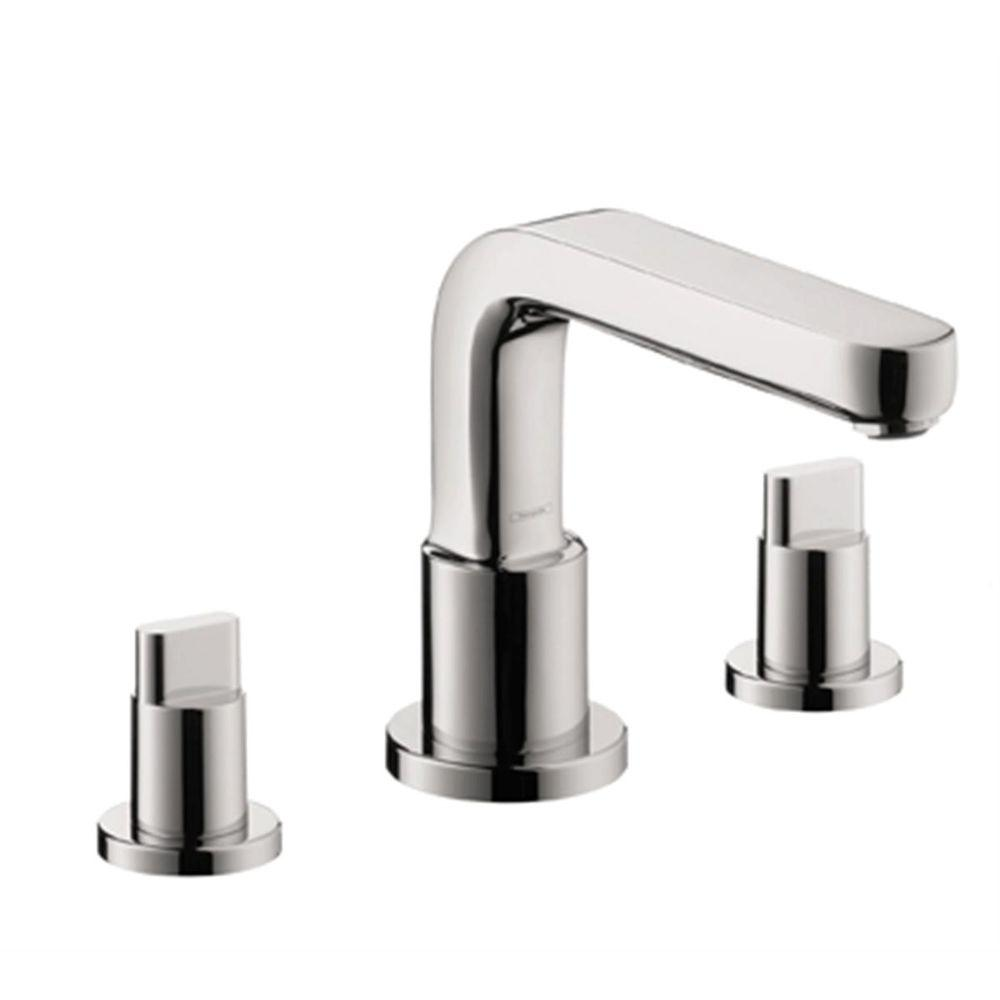 Hansgrohe Metris S Lever 2 Handle Deck Mount Roman Tub Faucet With - Hansgrohe Metris