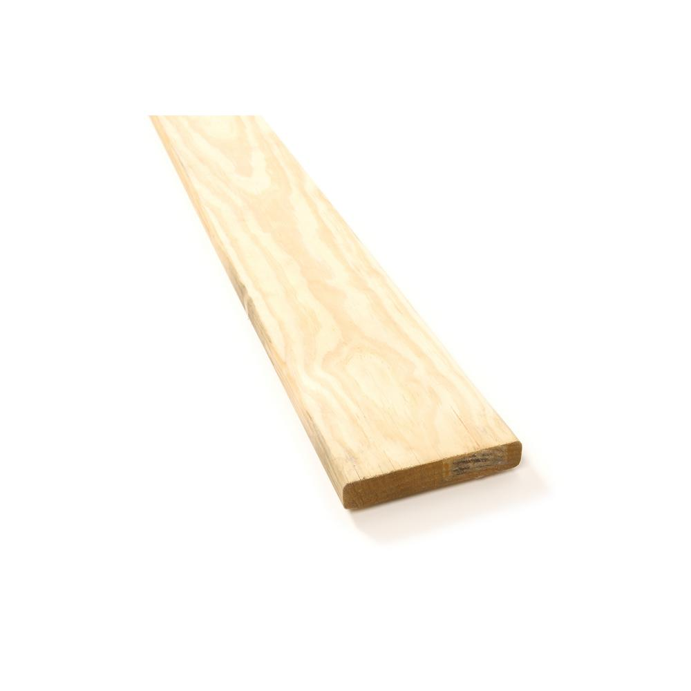 Home Depot Cedar Deck Boards Weathershield 5 4 In X 6 In X 12 Ft Standard Ground Contact Pressure Treated Pine Decking Board