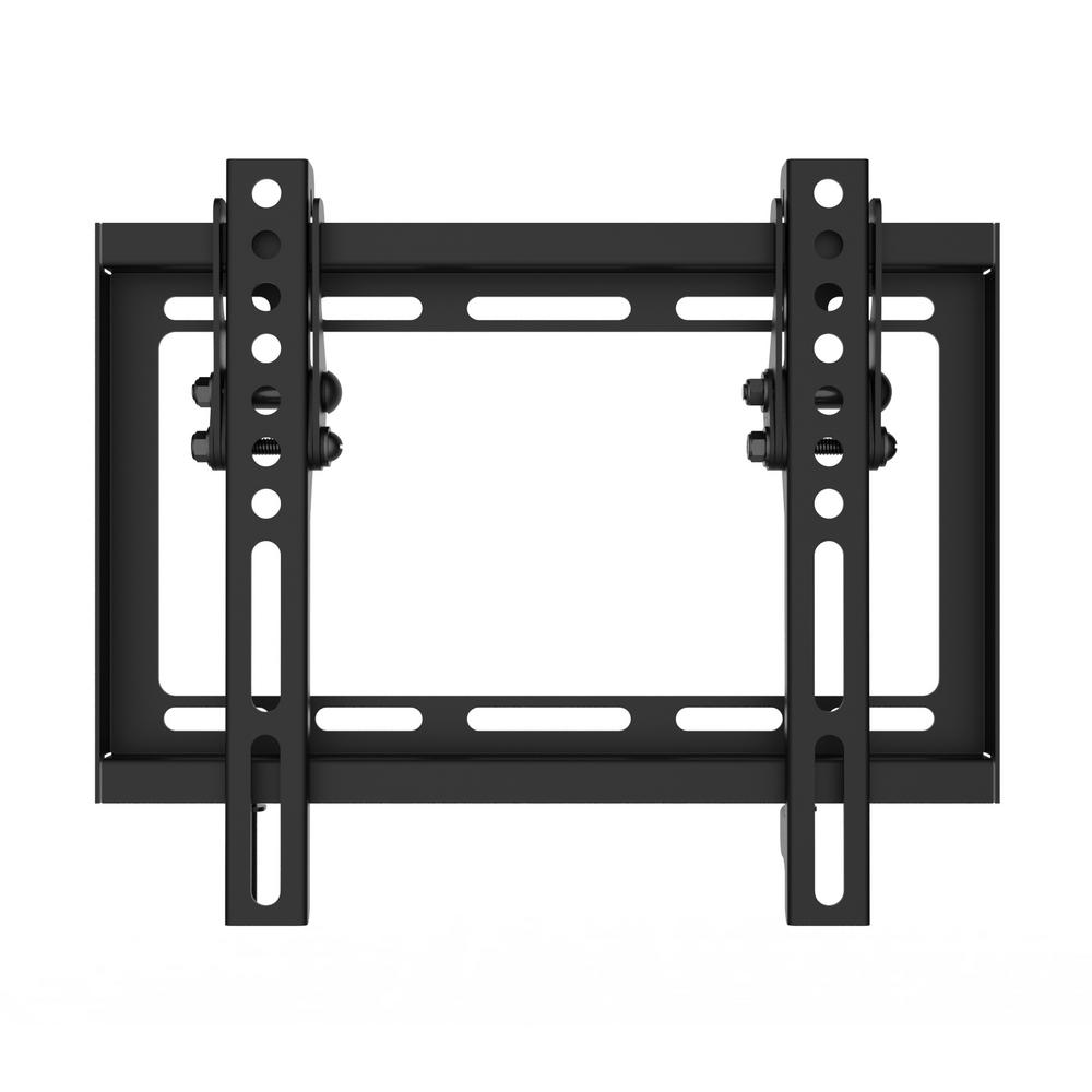 Small Tv Wall Shelf Monster Mounts Small Tilt Tv Wall Mount For 17 In 47 In
