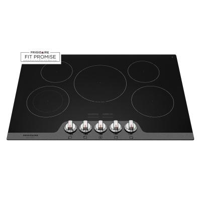 Samsung 30 in Radiant Electric Cooktop in Stainless Steel with 5
