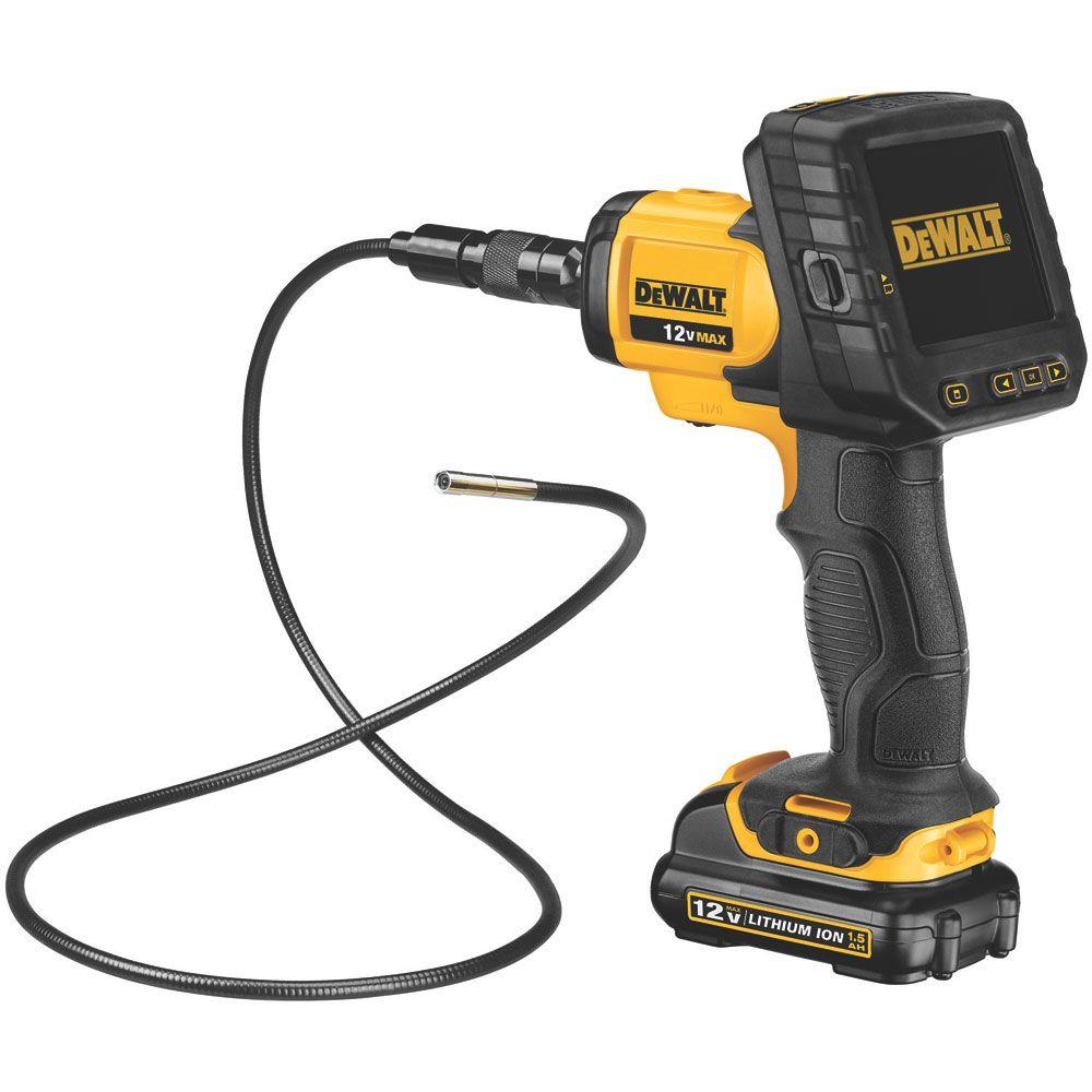Wireless Inspection Camera Dewalt 12 Volt Max 5 8 Mm Inspection Camera With Wireless Screen Kit