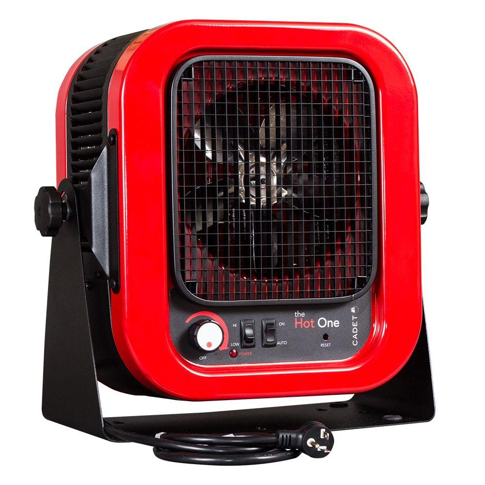 King Electric Garage Heater Cadet The Hot One 4000 Watt 240 Volt Electric Garage Portable Heater