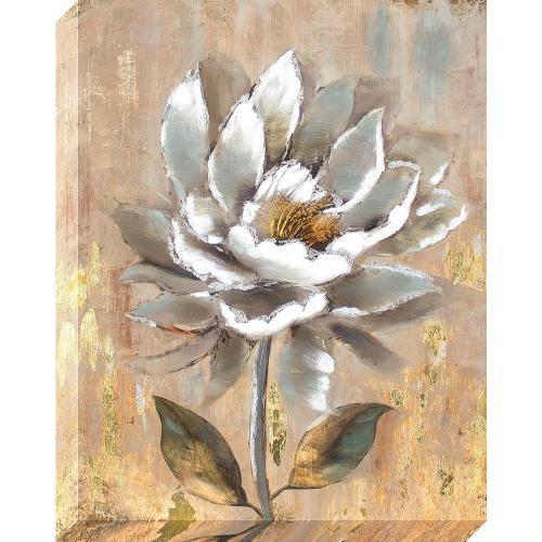 Medium Of White Flower Oil