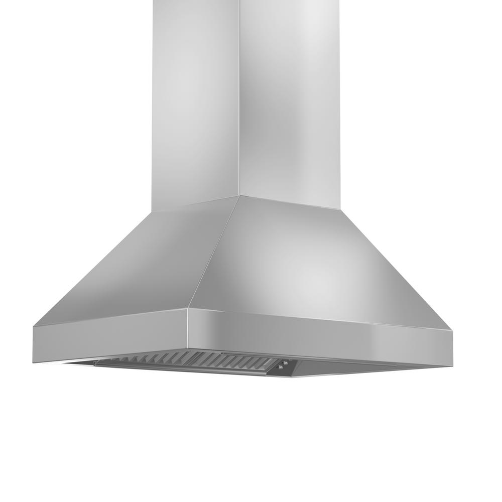 900 Rangehood Zline Kitchen And Bath 36 In 900 Cfm Island Mount Convertible Range Hood In Stainless Steel