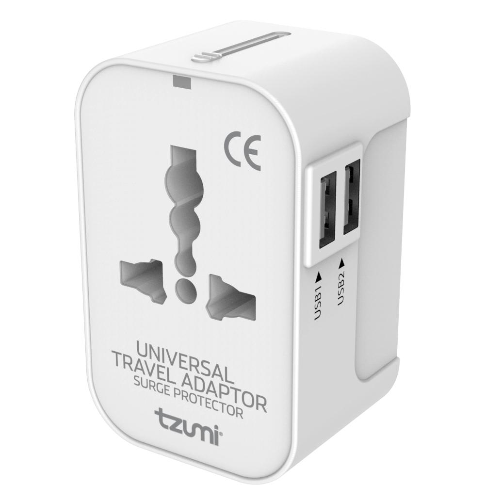 Travel Adapter Eu To Uk Tzumi Universal Travel Adapter With Usb Ports For Us Eu Uk And Aus