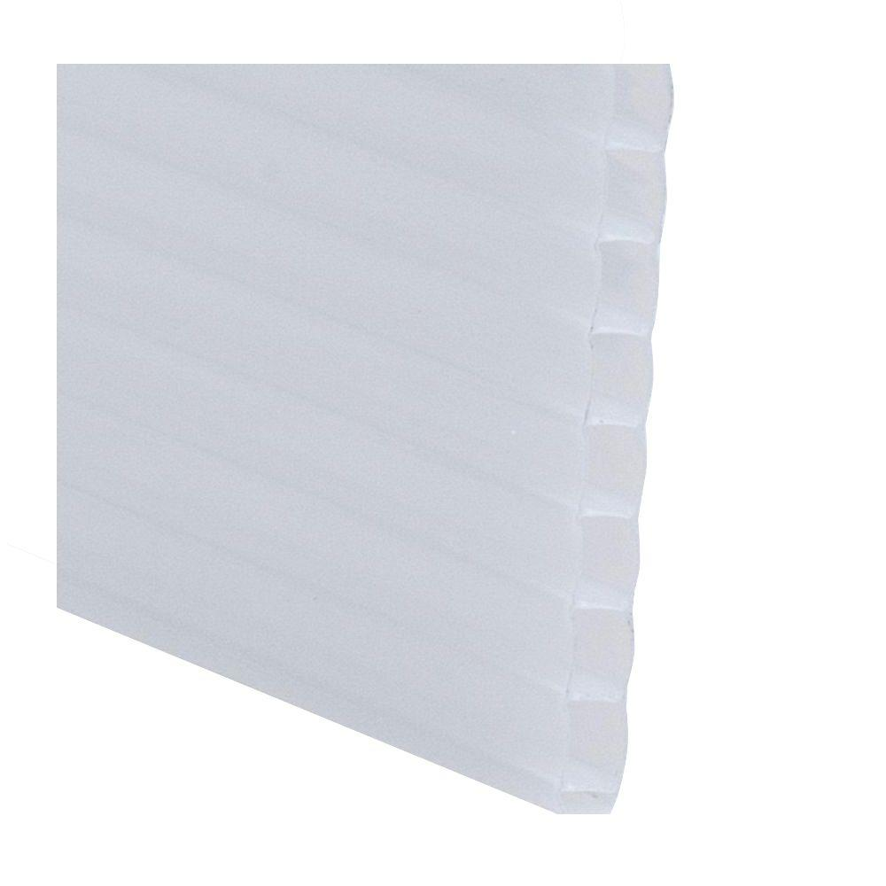 Lexan Thermoclear 48 In X 96 In X 1 4 In Opal Multiwall Polycarbonate Sheet Pctw4896 6mmopl - Polycarbonate Sheet