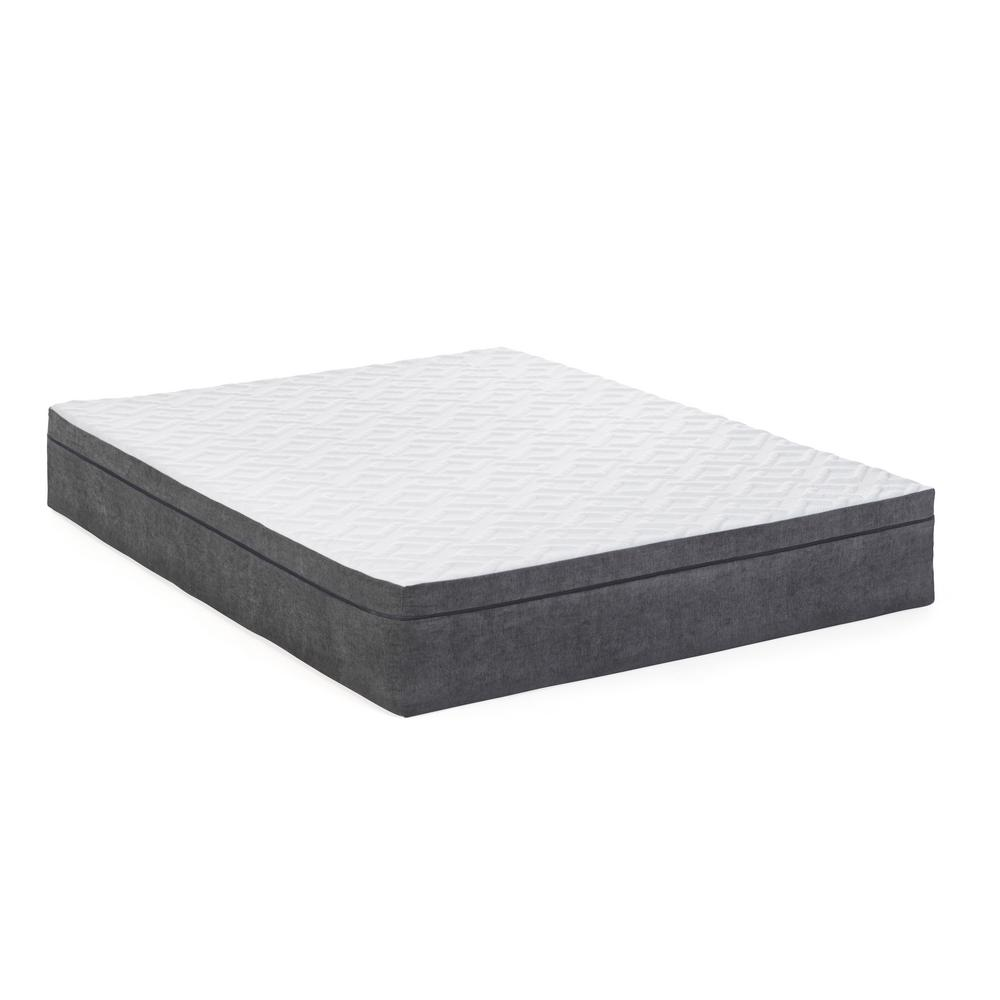 Best Foam Matress Blissful Nights 12 In Lilac King Memory Foam Mattress