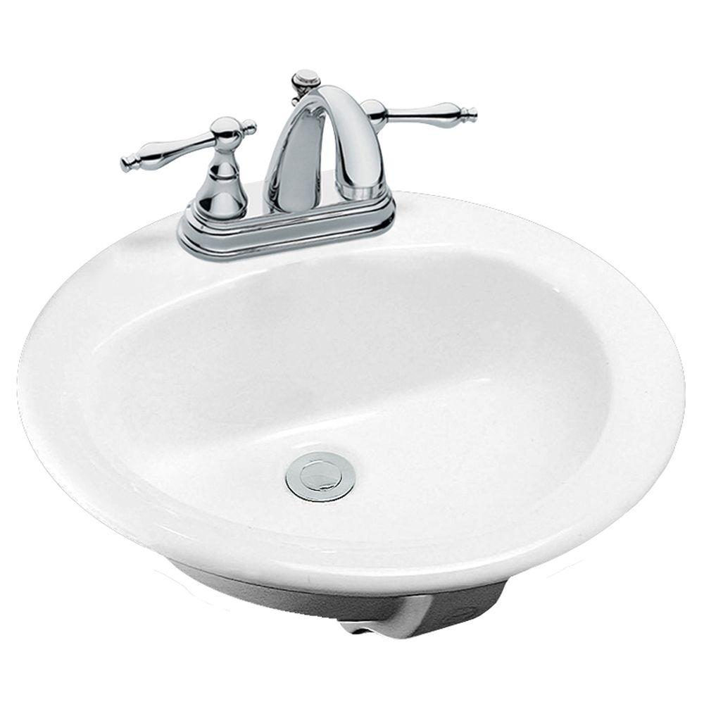 Drop in bathroom sink obamaletter - Glacier bay drop in bathroom sink ...