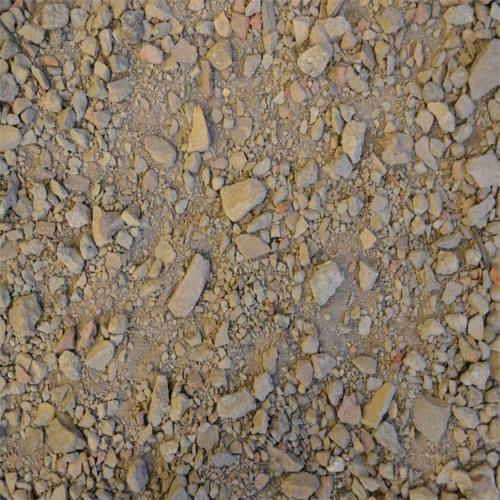 Pea Gravel Home Depot 14 Yards Crushed Stone