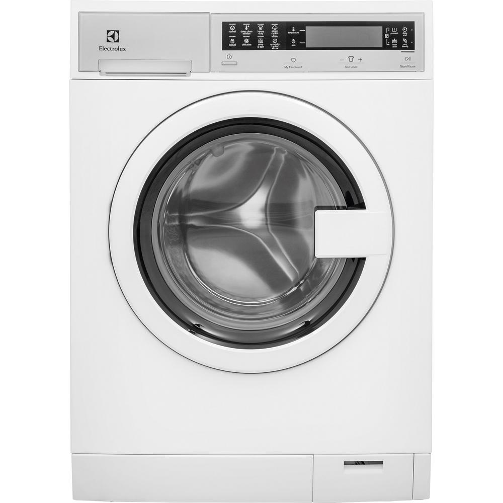 New Washer And Dryer Electrolux Iq Touch 24 In W 2 4 Cu Ft High Efficiency Front Load Washer With Steam In White Energy Star