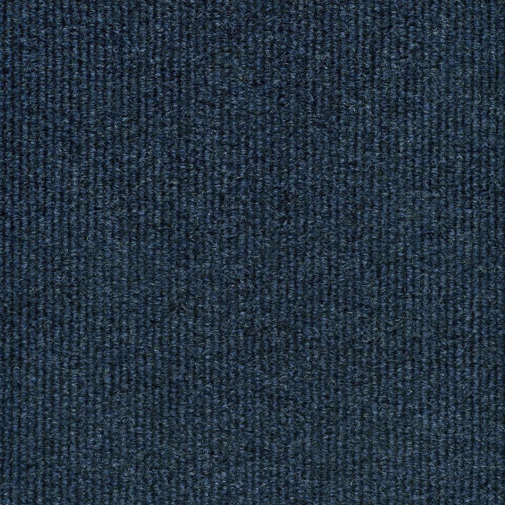 Blue Carpet Trafficmaster Elevations Color Ocean Blue Ribbed Texture Indoor Outdoor 12 Ft Carpet