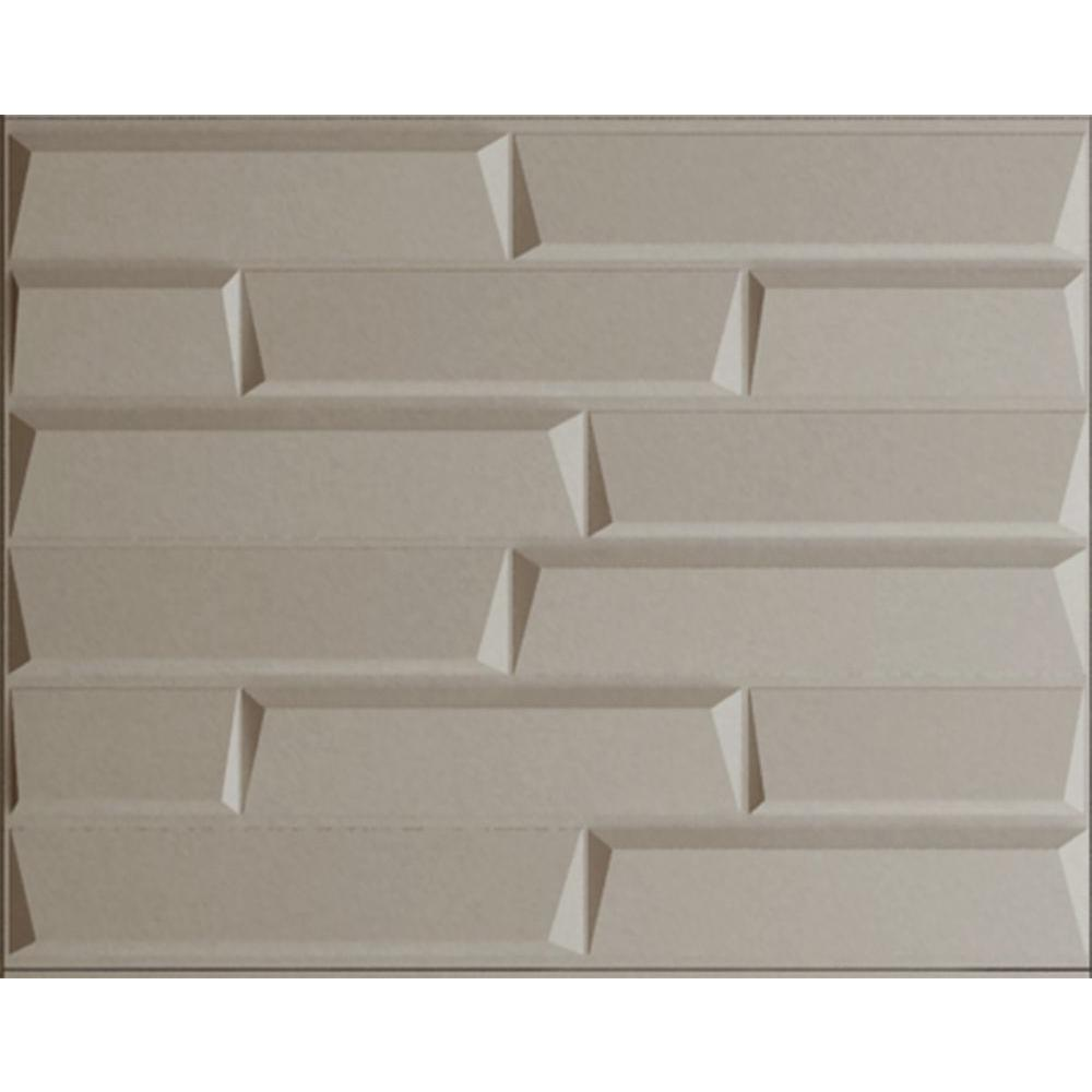 threeDwall 32.4 in. x 21.6 in. x 1 in. Off
