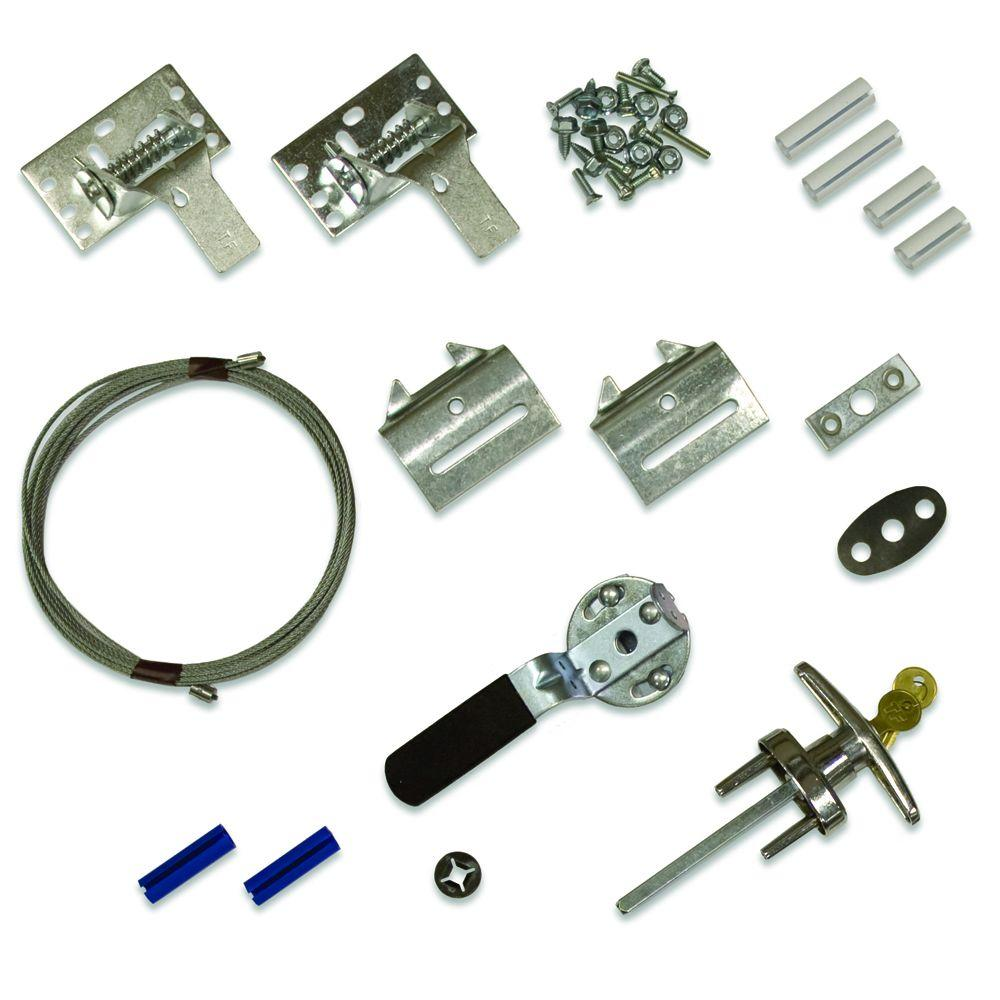 Garage Door Parts Anatomy Garage Door Keyed Lock Set