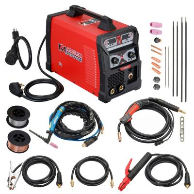 Lotos 200 Amp TIG/Stick Square Wave Inverter Welder with Foot Pedal