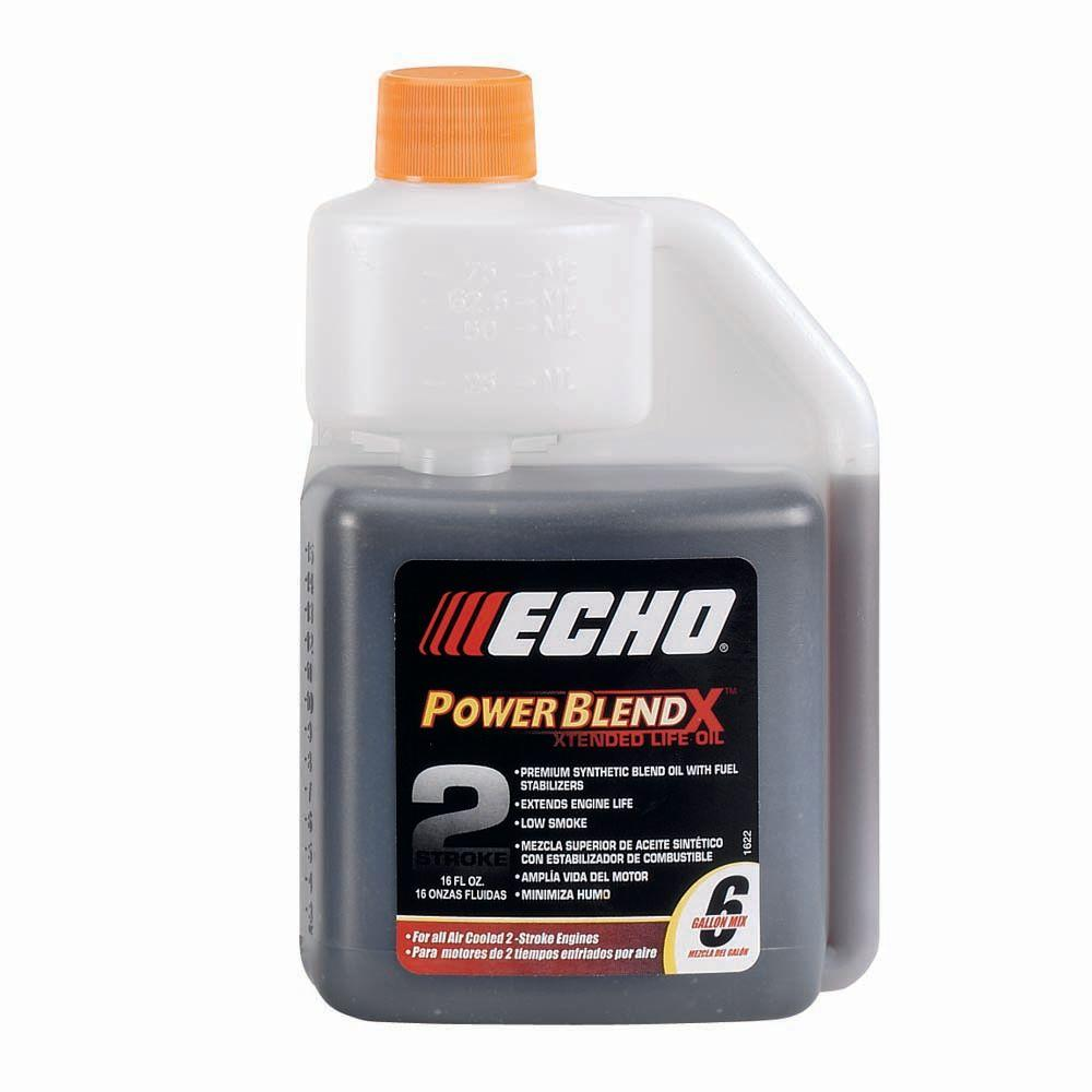 ???echo Echo Power Blend 16 Oz 2 Stroke Cycle Engine Oil