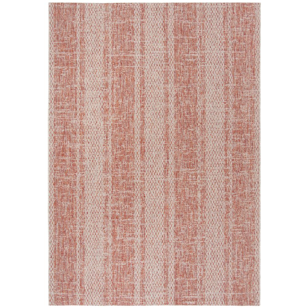 Safavieh Courtyard Safavieh Courtyard Light Beige Terracotta 8 Ft X 11 Ft Indoor Outdoor Area Rug