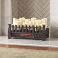 Home Decorators Collection Brindle Flame 20 in. Candle ...